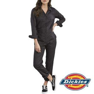 Dickies Women's Long Sleeve Cotton Twill Coveralls